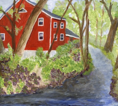 Red House by the Shepaug,